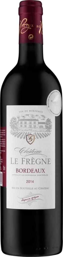 Wino Château Le Frègne Bordeaux AC
