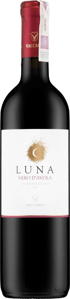 Wino Vaccaro Luna Nero d'Avola Terre Siciliane IGT