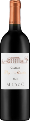 Wino Château Pey Martin Médoc AOC 2012