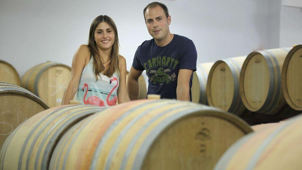 beczki z winem alicante