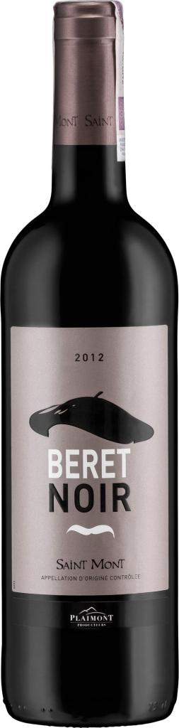 Wino Plaimont Beret Noir Saint-Mont AOC 2016