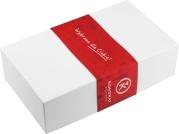 Pudełko prezentowe z wytrawnymi dodatkami i miejscem na jedną butelkę