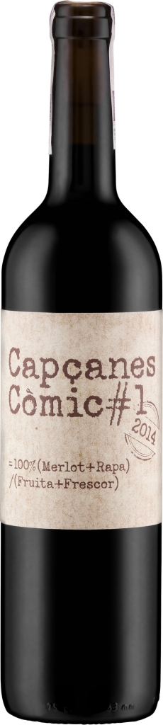 Wino Capcanes la Rapa Comic Montsant DO