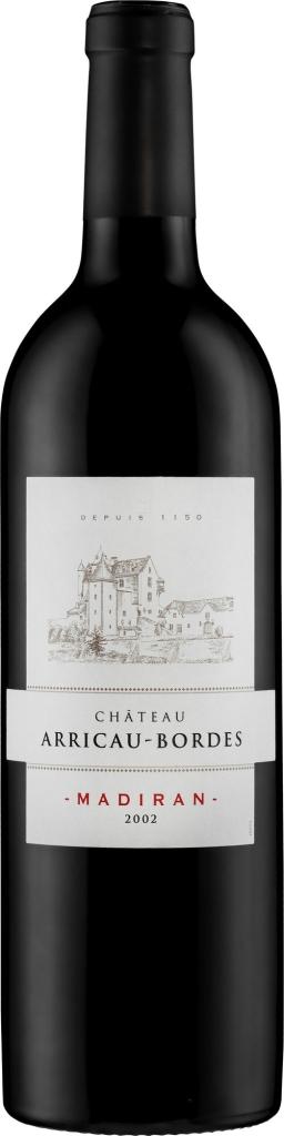 Wino Château Arricau Bordes Madiran AOC 2002