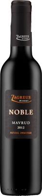 Wino Zagreus Noble Mavrud Sweet 375 ml 2012