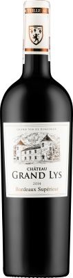 Wino Chateau Grand Lys Bordeaux Superieur AOC 2015