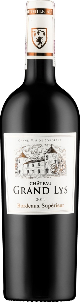 Wino Chateau Grand Lys Bordeaux Superieur AOC 2014