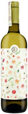 Wino białe Alconde Lerin Chardonnay Viura z etykietą weselną