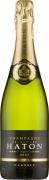 Wino Haton Brut Classic Champagne AC w pudełku ozdobnym