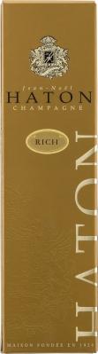Wino Haton Demi-sec Rich Champagne AC w pudeku ozdobnym