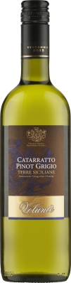 Wino Volunte Top Catarratto Pinot Grigio Terre Siciliane IGP 2016