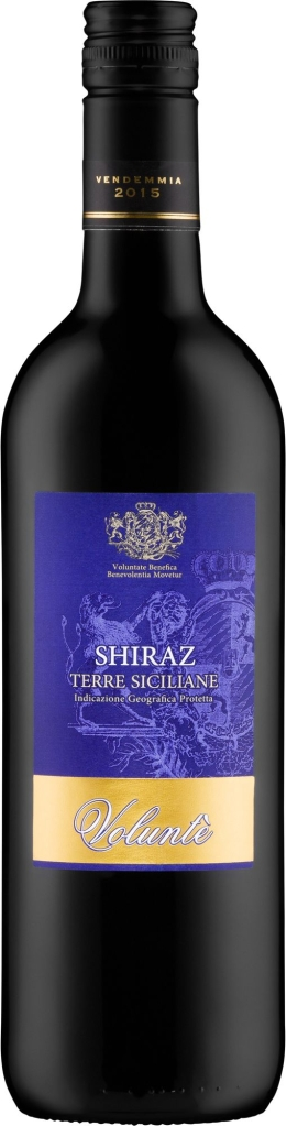 Wino Volunte Top Shiraz Terre Siciliane IGP 2015