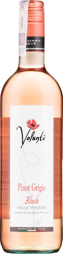 Wino Volunte Pinot Grigio Blush IGP