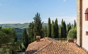 Widoki Toskania