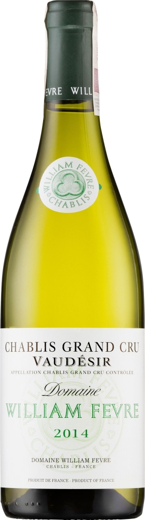 Wino William Fevre Chablis Grand Cru Vaudésir AOC 2014
