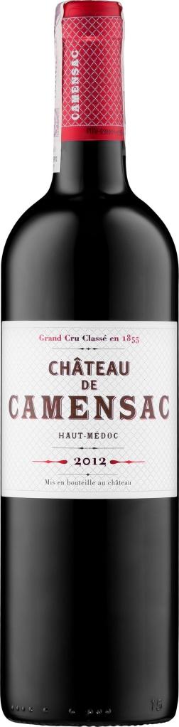 Wino Château de Camensac 5eme Grand Cru Classe Haut-Médoc AC 2012