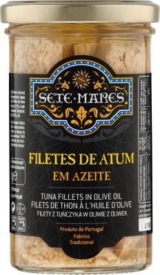 Filety z tuńczyka Sete Mares w oliwie z oliwek (250 g)