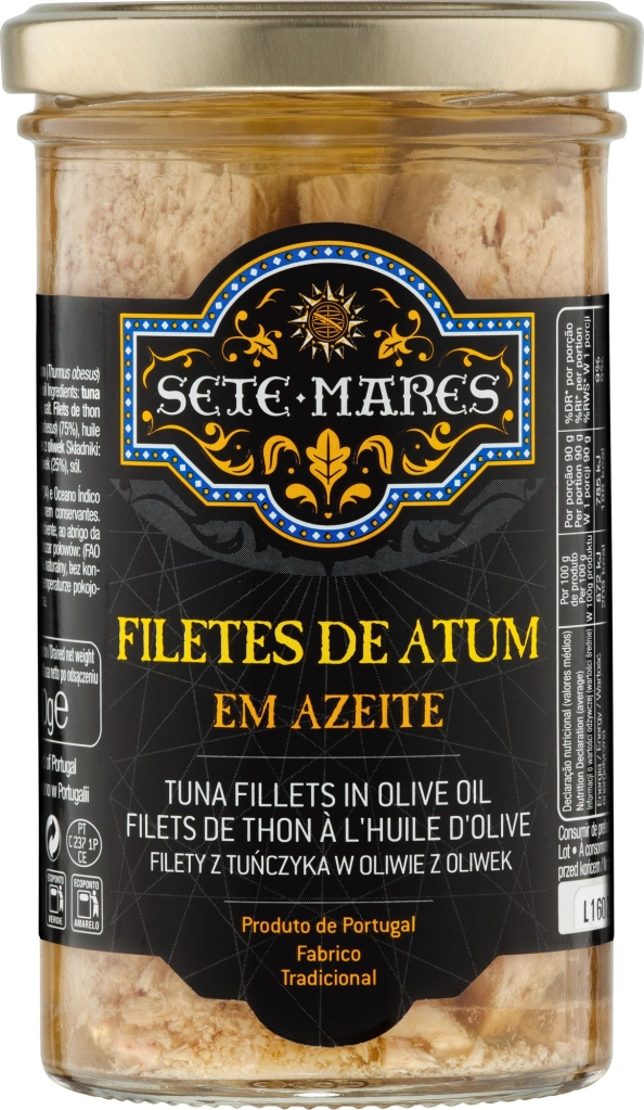 Sete Mares filety z tuńczyka w oliwie z oliwek (250 g)