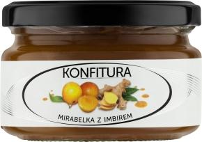 Karmello konfitura mirabelka z imbirem (200 g)