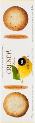 Deseo Biscotti Crunch ciasteczka cytrynowe (115 g)
