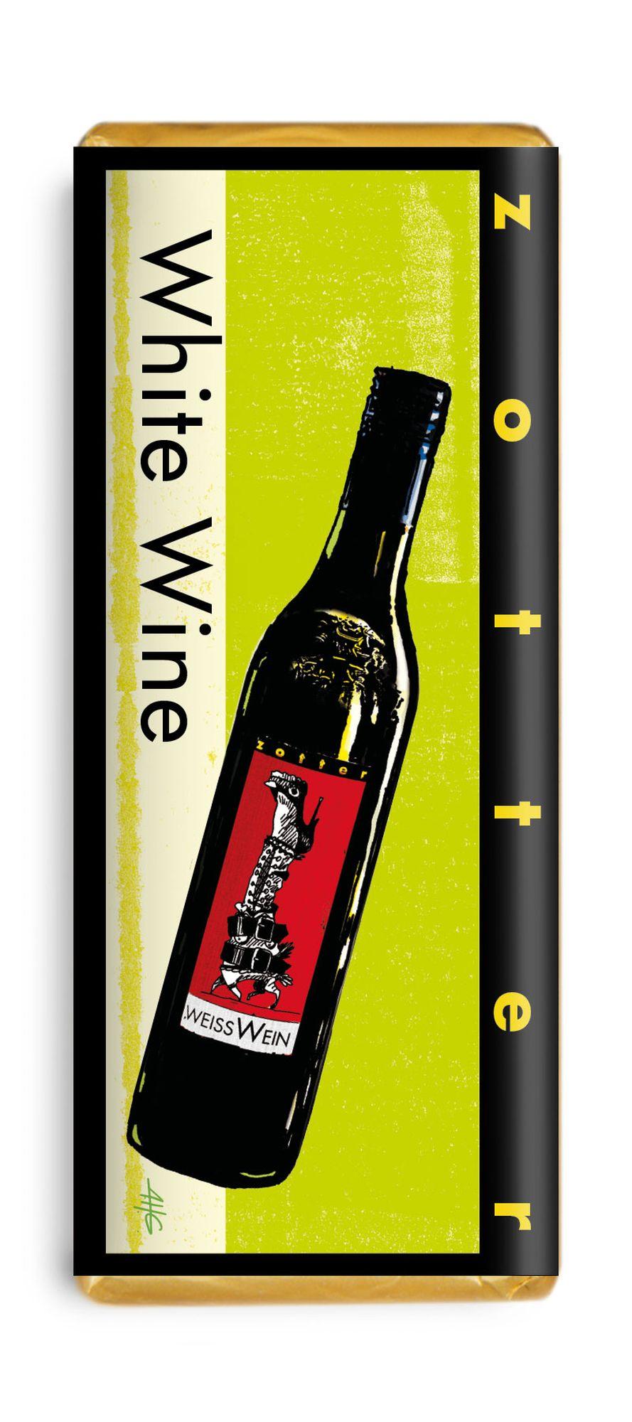 Czekolada zotter white wine Muscaris