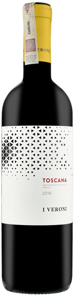 Wino I Veroni Rosso Toscana IGT 2019