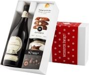 """Pudełko świąteczne """"Kremowa rewolucja"""" z winem Ca' del Sette Appassionante"""