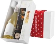 """Pudełko świąteczne """"Śliwka w kompot"""" z winem Turnau Johanniter"""