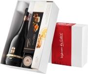 """Pudełko prezentowe """"Śliwka w kompot"""" z winem Leyda Lot 21 Pinot Noir"""