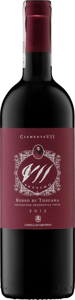 Wino Castelli del Grevepesa Settimo Supertuscan Rosso Toscano IGT 2012