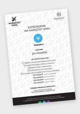 Voucher na Warsztat Wina: komplet kursów poziomu 2 (4 kursy)