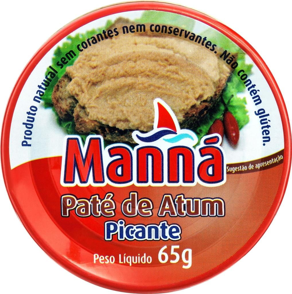 Pikantna pasta z tuńczyka Manná (65 g)