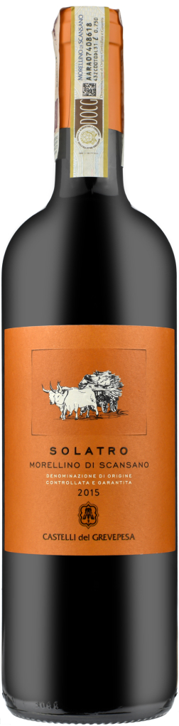 Wino Grevepesa Solatro Morellino di Scansano DOCG 2016