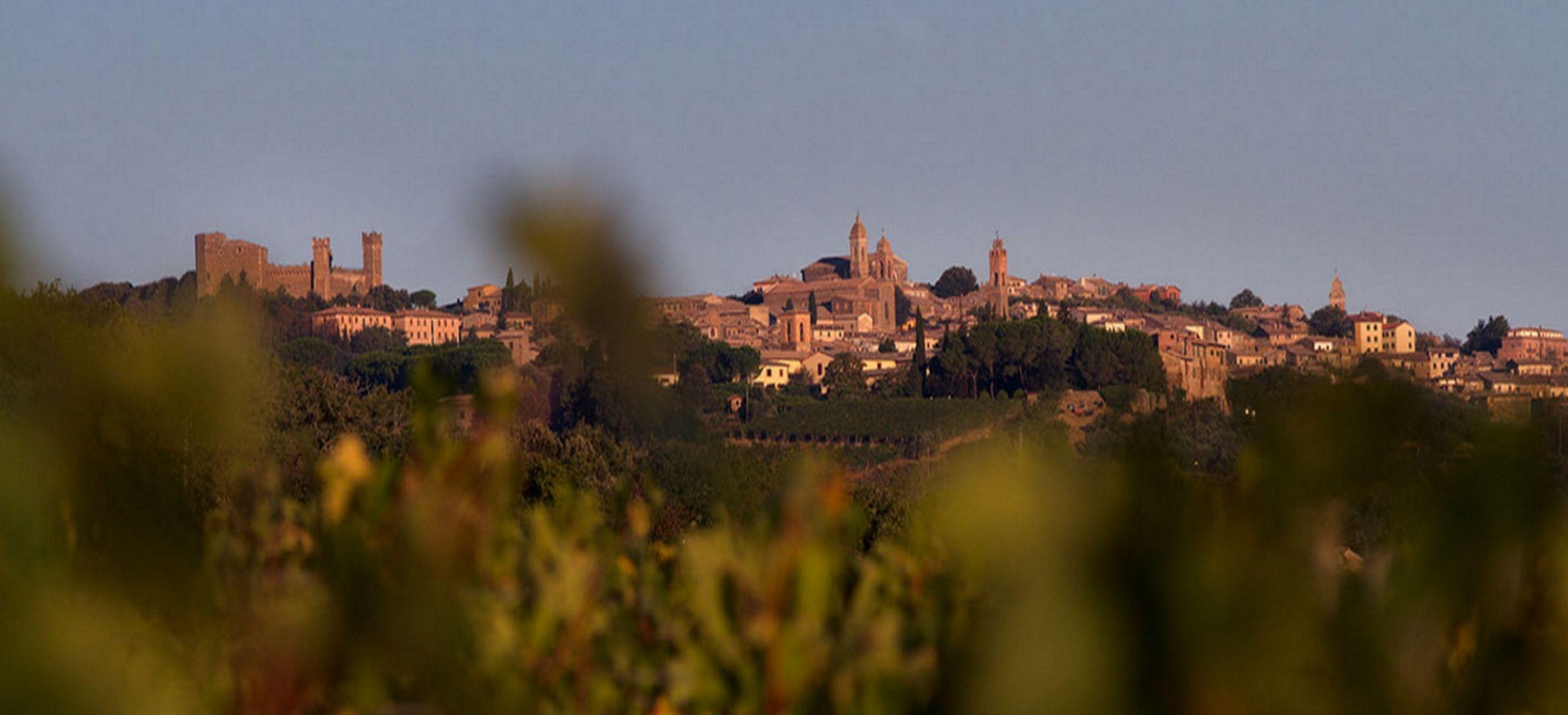 Montalcino w Toskanii