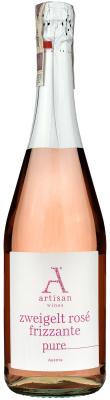 Wino Artisan Zweigelt Rose Frizzante Pure Burgenland 2016
