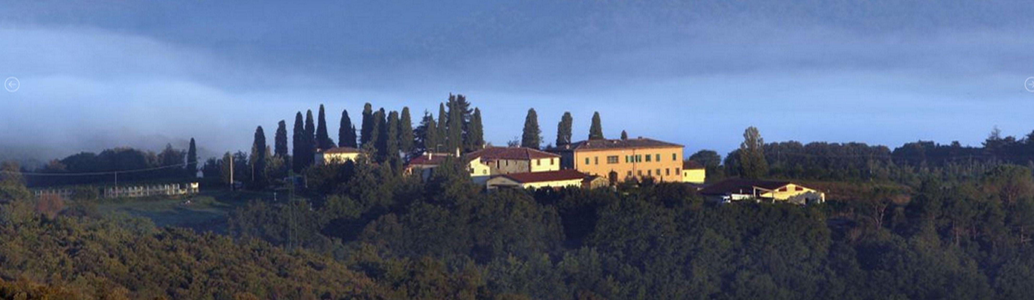 Toskania wzgórza
