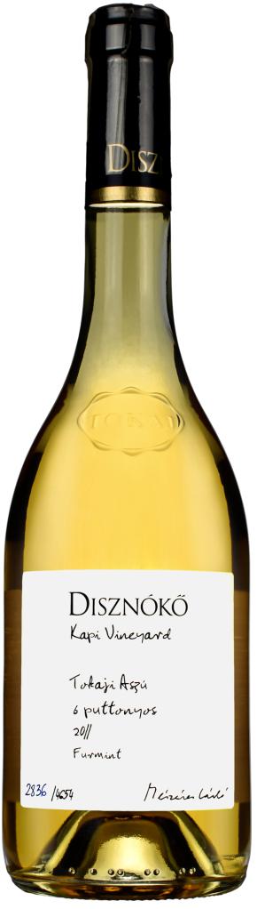 "Wino Disznoko Aszu 6 Puttonyos Tokaj ""Kapi Vineyard"" 2011 500 ml"