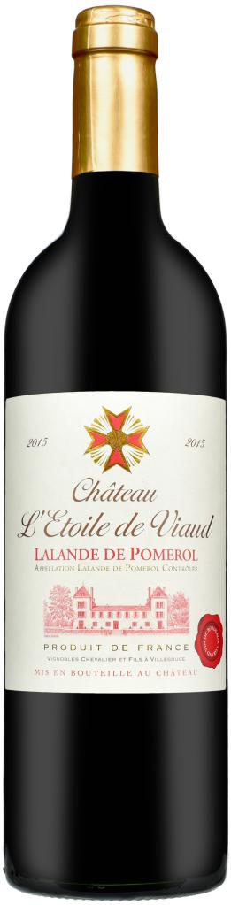 Wino Château l'Étoile de Viaud Lalande de Pomerol AOC