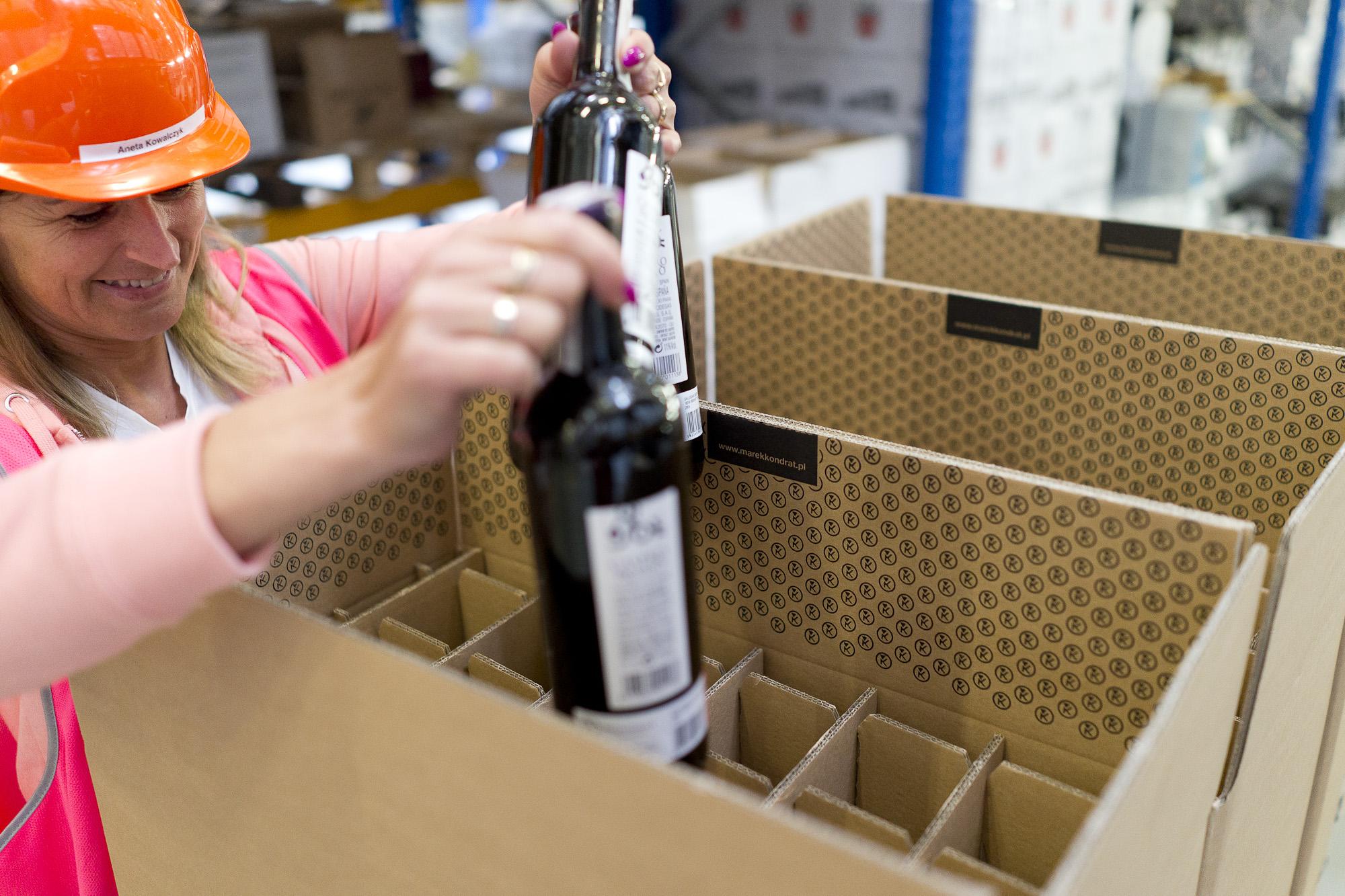 Wino na prezent dla firm