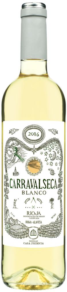 Wino Casa Primicia Carravalseca Blanco Rioja DOC 2016