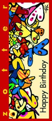 "Zotter czekolada nadziewana ""Happy Birthday – Butter Caramel"" (70 g)"