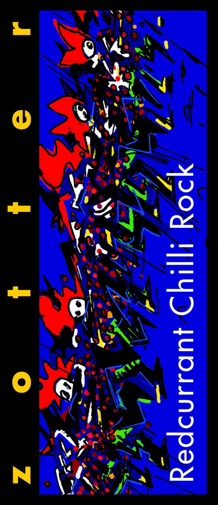 "Zotter czekolada nadziewana ""Redcurrant Chilli Rock"""