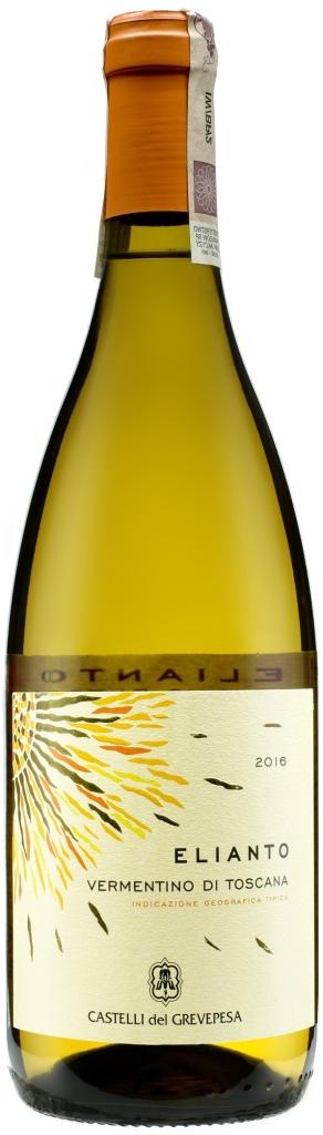 Wino Grevepesa Elianto Vermentino di Toscana IGT 2018
