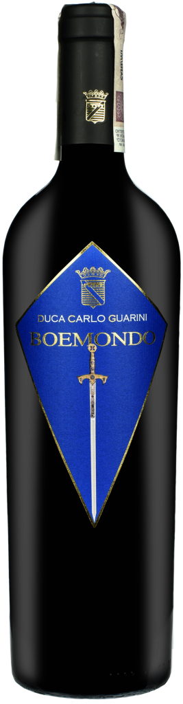 Wino Duca C. Guarini Boemondo Primitivo Salento IGT 2013