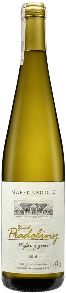 Wino Winnica Stara Winna Góra Riesling znad Pradoliny Wybór z Gron