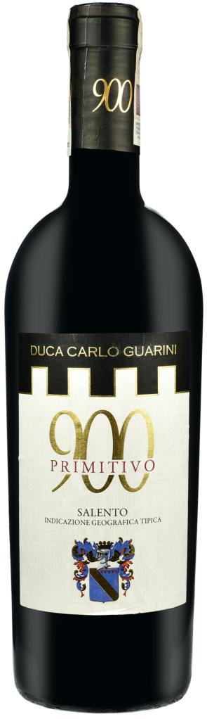 Wino Duca C. Guarini 900 Primitivo Salento IGT 2011