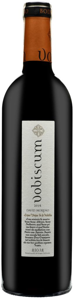 Wino David Moreno Vobiscum Rioja DOC 2015