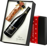 La Bastide Syrah w eleganckim pudełku ze świątecznym akcentem