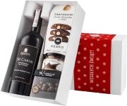 """Pudełko świąteczne """"Kremowa rewolucja"""" z winem Giusti Chardonnay Dei Carni"""