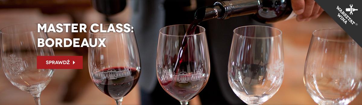 Kurs winiarski - wina Bordeaux